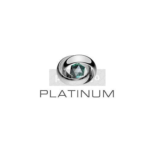 Platinum Rings and diamond - Pixellogo
