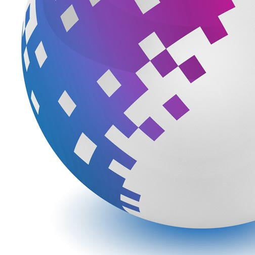 Pixel Ball-3D Non Exclusive-Pixellogo