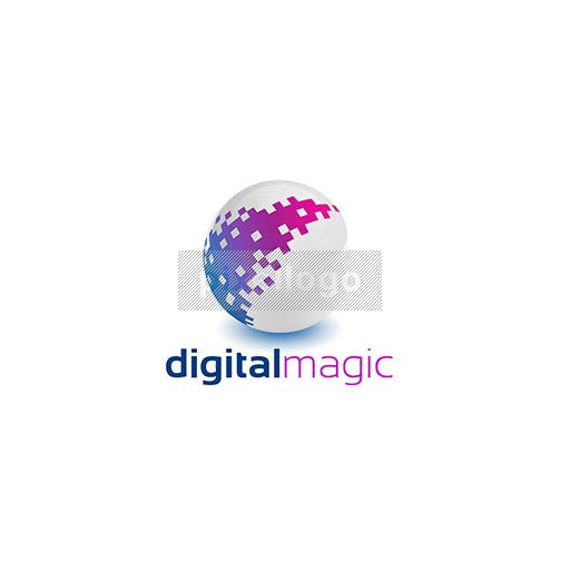 Pixel Magic Logo 3D-898 - pixellogo