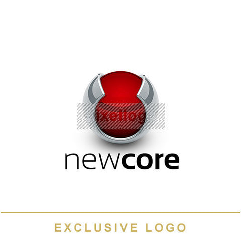 Red Core Protection - Pixellogo