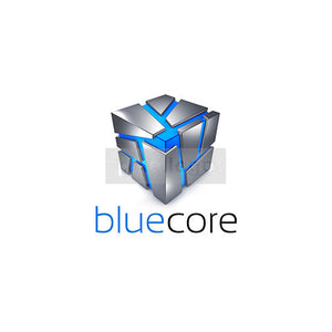 Blue core Safe Hosting Logo 3D-981 - Pixellogo