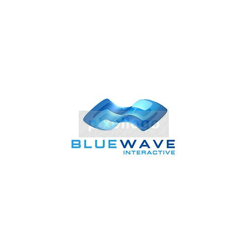 Blue Wave Design - Pixellogo