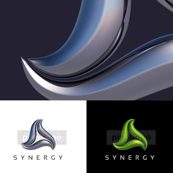 Synergy Consulting 3D - Pixellogo