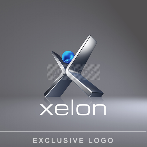 X Metal Man - software logo | Pixellogo