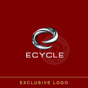 Spinning E- Electric Energy Technology logo | Pixellogo