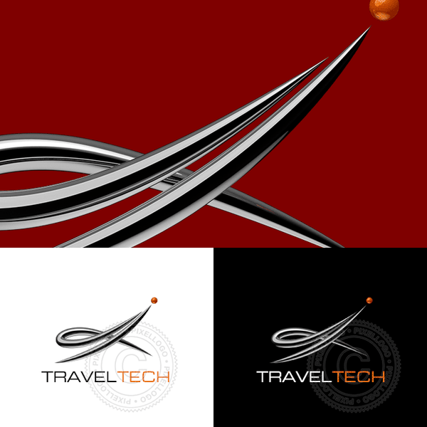 Travel agency logo | Pixellogo