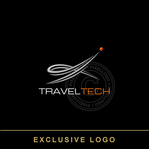 Aviation Flight Academy Logo | Pixellogo