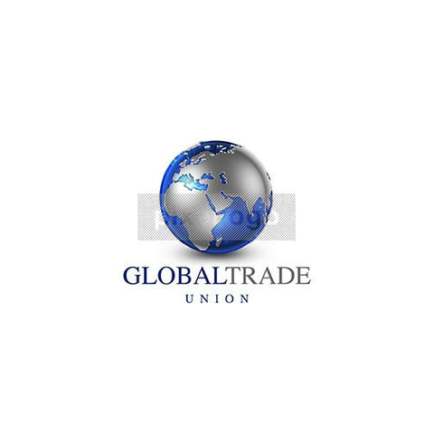 Blue Globe World Atlas 3D Logo 3D-21 - Pixellogo