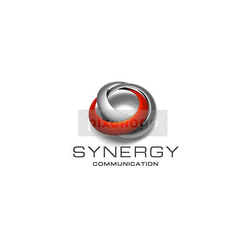 Technology and Science Logo 3D-270 - pixellogo