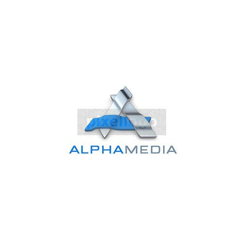 Alpha Media 3D Logo 3D-377 - Pixellogo