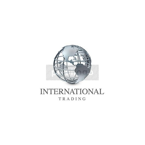 International Trading 3D Logo 3D-34 - pixellogo