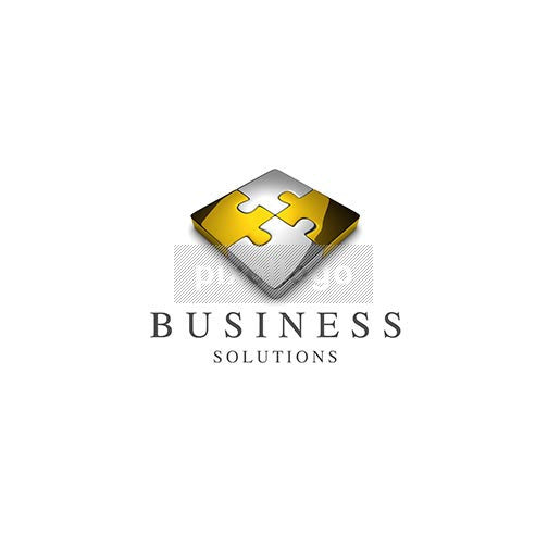 Business Solutions Puzzle 3D - Pixellogo