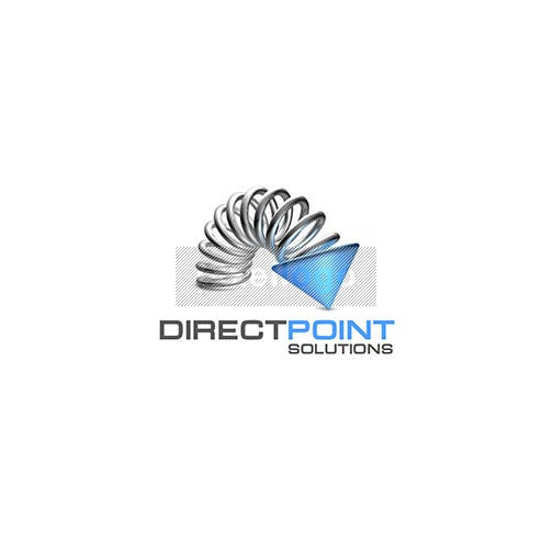 Direct Point Solutions 3D Logo | Pixellogo - Pixellogo