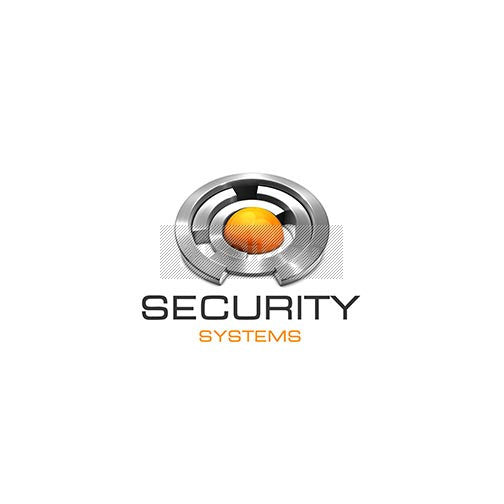 Security Systems 3D Logo 3D-370 - pixellogo