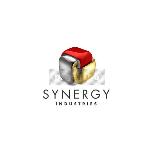 Synergy Industries 3D Logo 3D-374 - pixellogo