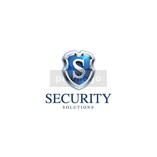 Security Shield Seal 3D - Pixellogo