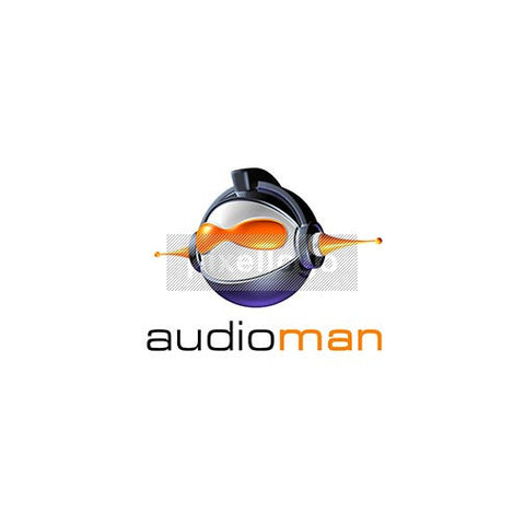 Audio Man Dj 3D - Pixellogo