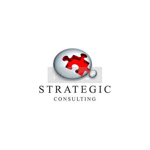 Strategic Consulting Puzzle 3D - Pixellogo