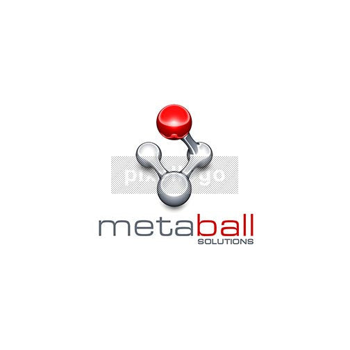 Metaball Solutions Gaming 3D Logo 3D-401 - pixellogo