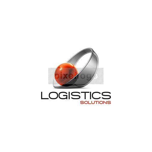 Logistic Solutions 3D - Pixellogo