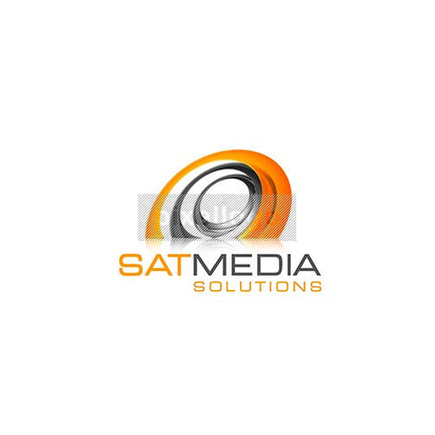 3D Satellite Logo