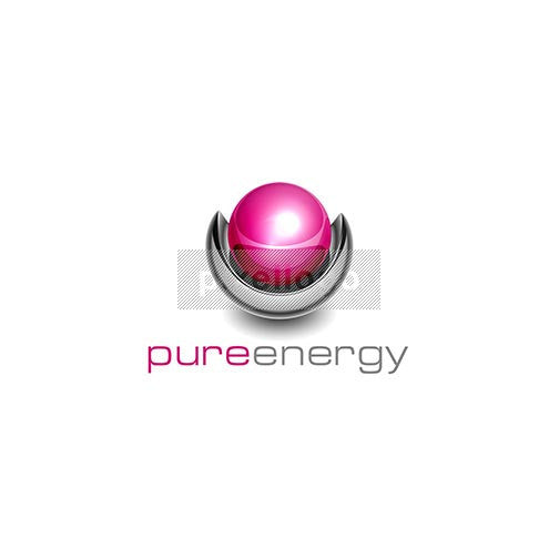 Pure Energy and Security 3D Logo 3D-448 - pixellogo