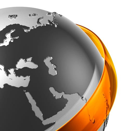 World Map 3D Communications-3D Non Exclusive-Pixellogo