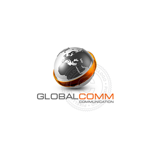 3D World Logo - Global Communication logo | Pixellogo