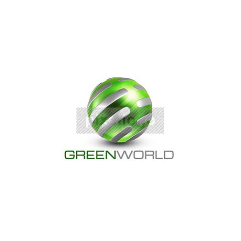 Green World 3D Green Globe - Pixellogo