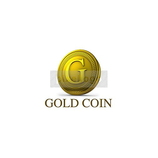 "Gold Coin 3D Letter ""G"""