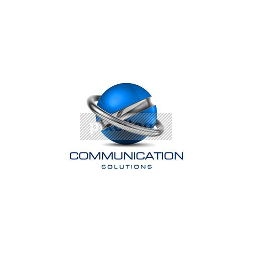 Communication Solutions 3D Logo 3D-506 - Pixellogo