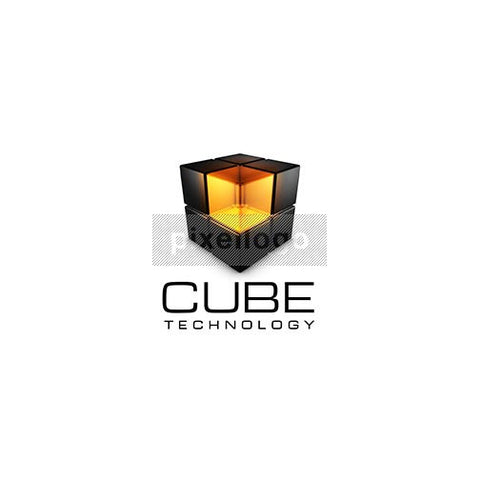 Cube Technology 3D - Pixellogo