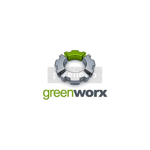 Green Gear 3D - Pixellogo