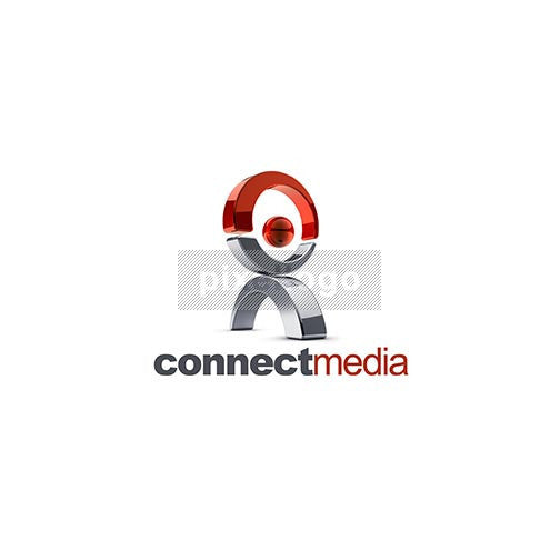 Atlas Man Connect Media 3D - Pixellogo