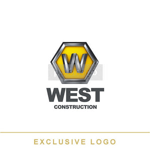 Metal Construction Logo 3D-EX-906 - pixellogo