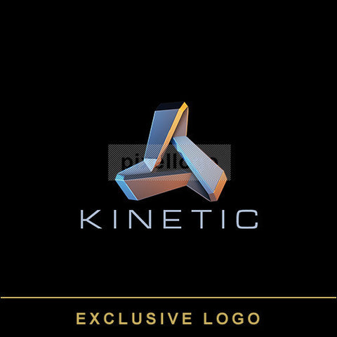 Kinetic Logo 3D-EX-925 - pixellogo