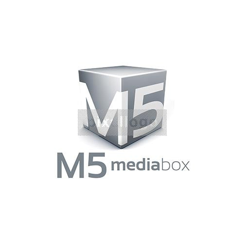 Media Box logo 3D-950 - pixellogo