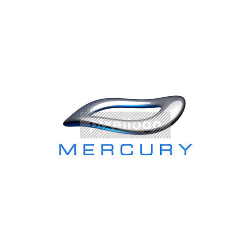 3D liquid Metal Mercury logo