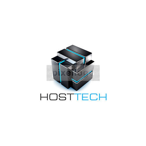 Secure Hosting logo in 3D Metal Box