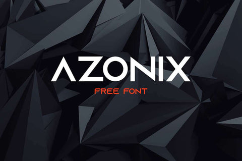 AZONIX Display Free Font