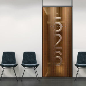 3D Business Door Number Signage Wallpaper - DoorTouch