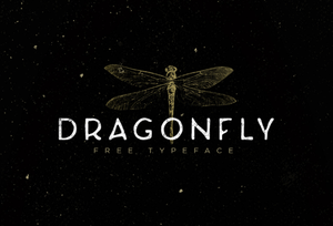 Dragonfly Free Font