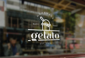 Gelato Display Free Demo Font
