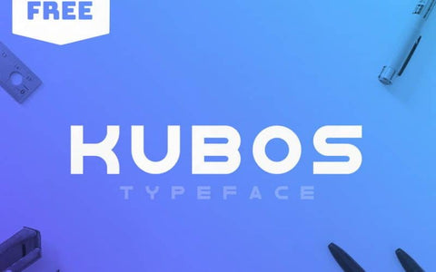 Kubos Display Free Font