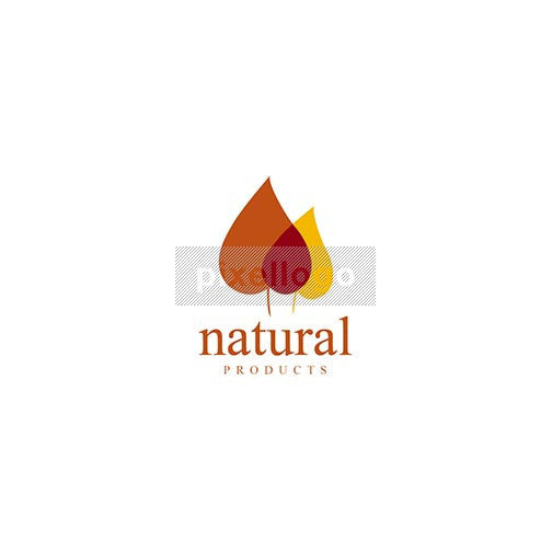 Dry Leaves Organic Food - Pixellogo