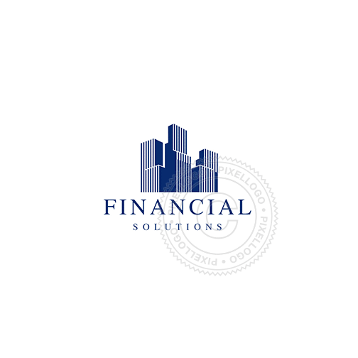 Financial District - Pixellogo