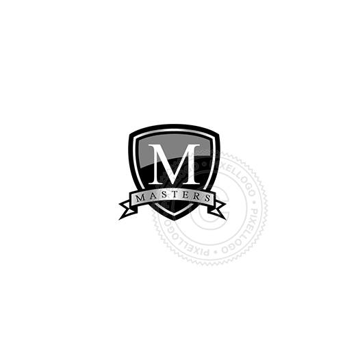 Black Shields College-Logo Template-Pixellogo