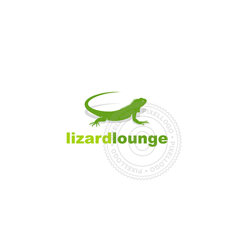 Green Lizard Logo Design - Pixellogo