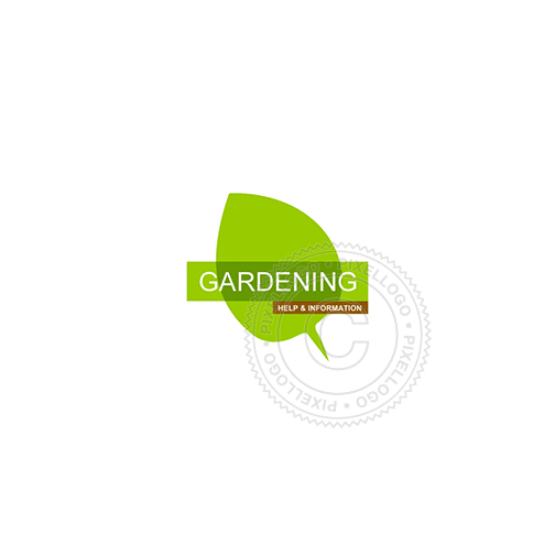Green Leaf Tea House-Logo Template-Pixellogo