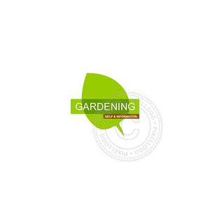 Green Leaf Tea House - Pixellogo